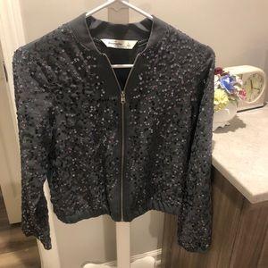 Abercrombie sparkle jacket